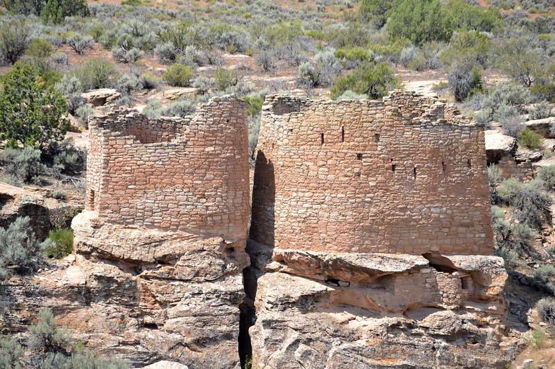 Ruins at Hovenweep National Monument