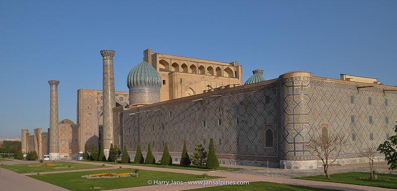Samarkand, Registan