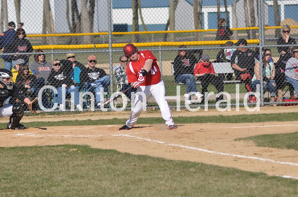 Hall at Fulton baseball (4-18-14)