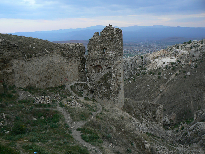 We drove up to this old Fortress in Harput.