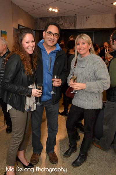 Sarah Mansoori, Tony Orantes and Ive Haugeland