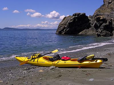 Kayaking Bowman Bay June 2010