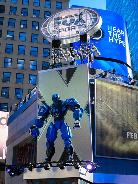 Super Bowl Boulevard - January 29, 2014