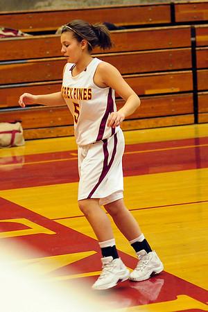 TPHS girls basketball vs Mission Hills, Jan 27 09