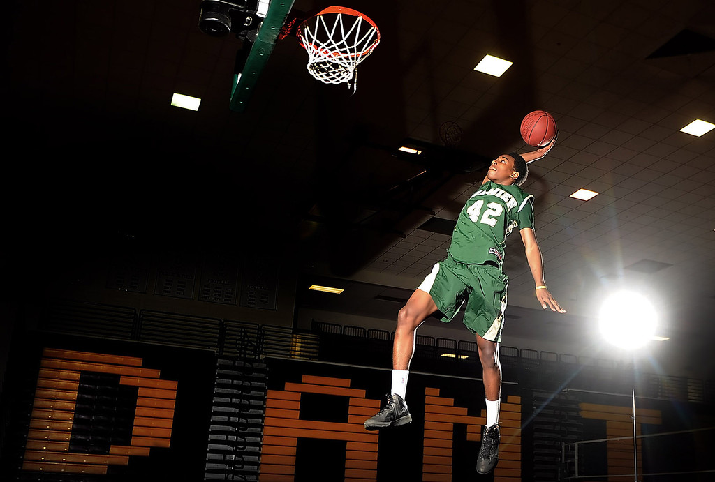 . Basketball player of the year Jeremy Hemsley at Damien High School on Wednesday, March 27, 2013 in La Verne, Calif.  (Keith Birmingham Pasadena Star-News)