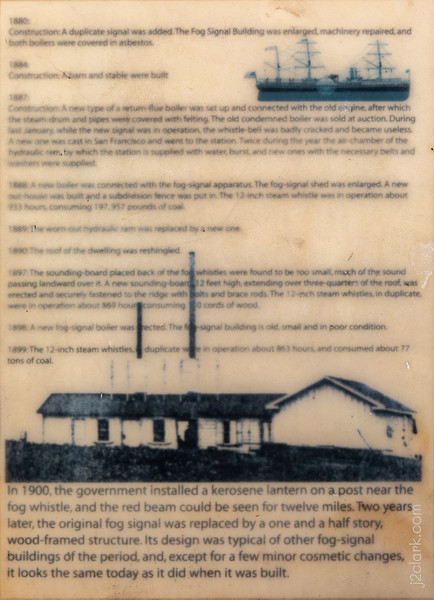 Montara Lighthouse History - Panel 4
