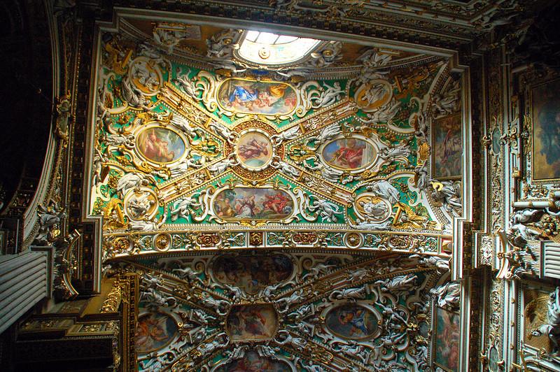 Santa Maria Maggiore (Ceiling)--Bergamo, Italy