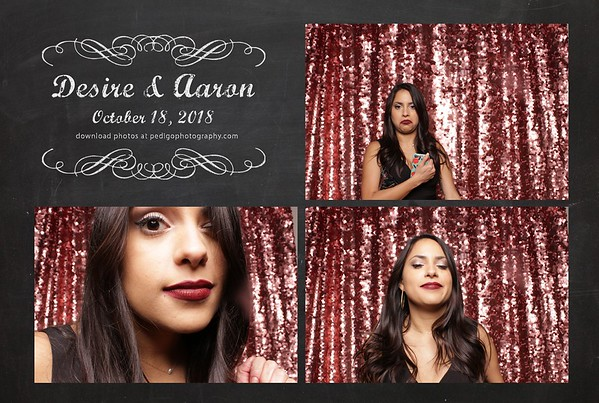 10.18.18 Desire and Aaron Photo Booth