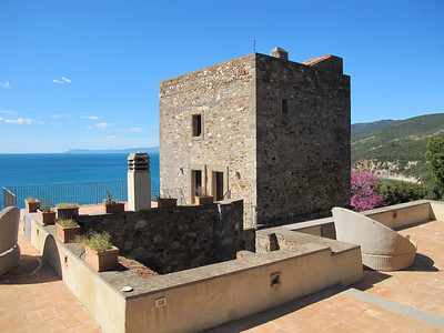 T001 - TUSCAN COAST, ITALY - Charming 15th Century Tower with Sea Views Situated in Natural Park
