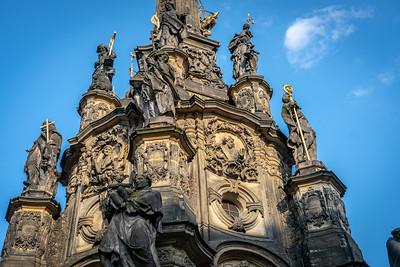 Holy Trinity Column in Olomouc 2018