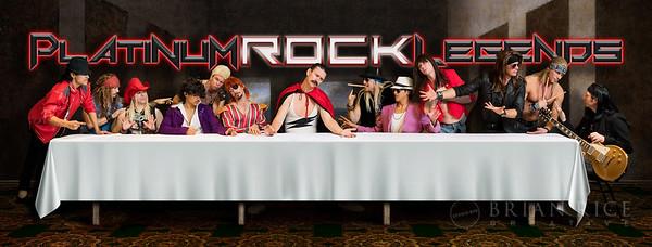 Platinum Rock Legends Promo Shoot 11.16.17