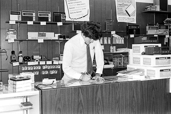 Old work photos  Radio Shack 1977