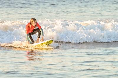 Sabrina's kids surfing Long Beach 10-1-21