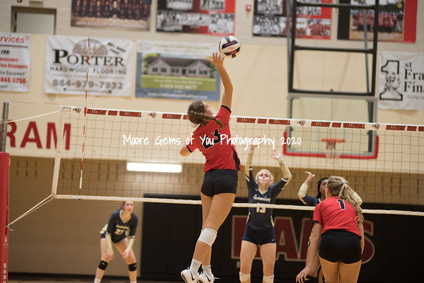2019 HIllcrest vs Spartanburg volleyball