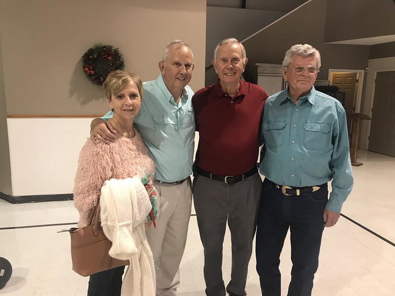 Carol, Mike, Ned and John