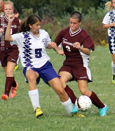 Hport DCS girls soccer 9-7-12