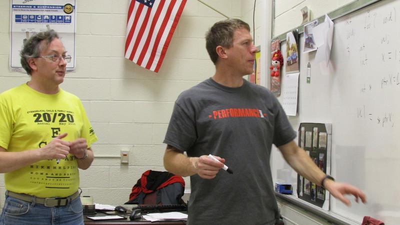 Mr. Gilgenbach teaches the programming subteam.