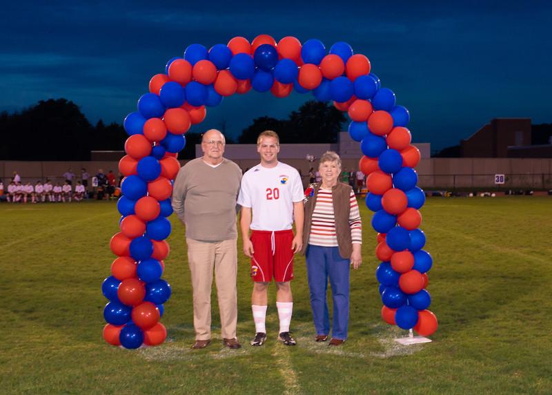 Senior Night On The Field