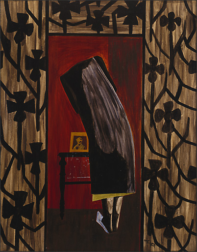 "Jacob Lawrence, "" War No. 11,"" 1947"