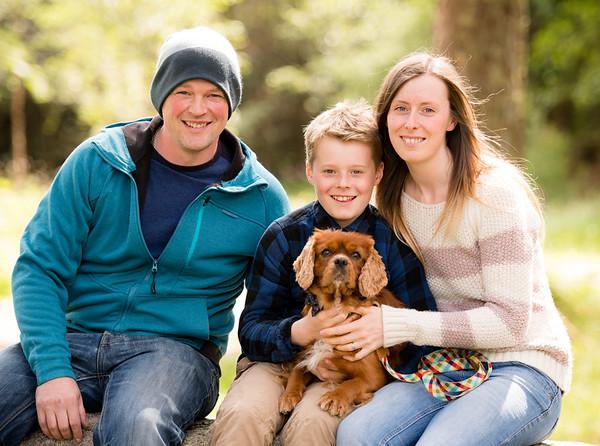 Kelly & Steven Family shoot