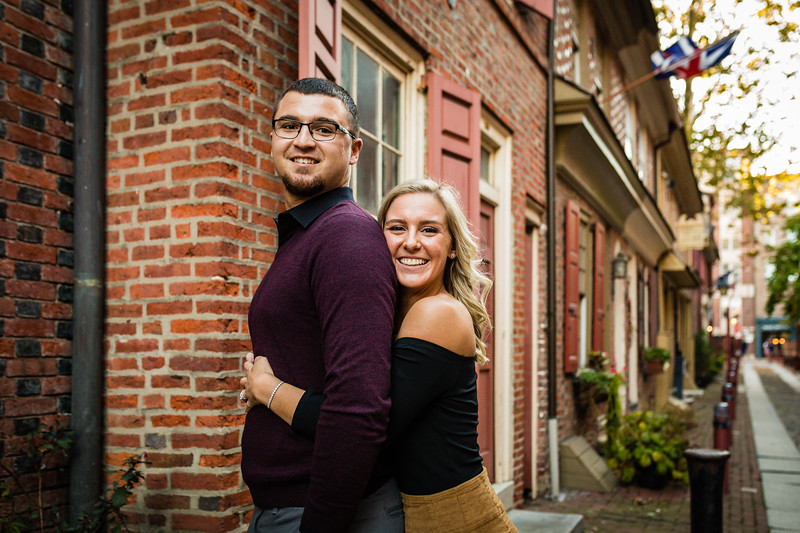 MICHELLE AND NICK - OLD CITY ENGAGEMENT SESSION - 37.jpg