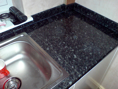 Worktop Installation with matching upstands