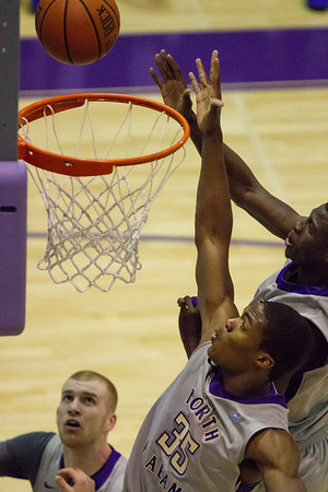 UNA Basketball vs West Florida 01/12/14