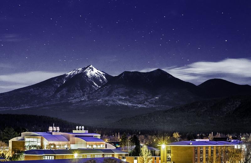 Northern Arizona University (Under Full Moon)