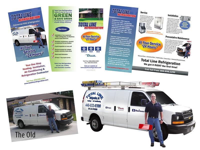 Brochure & Retouching