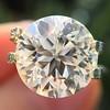 3.86ct Old European Cut Diamond GIA K VS2 44