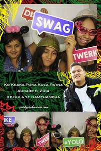 Keaka's Graduation Party (Luxury Photo Booth)