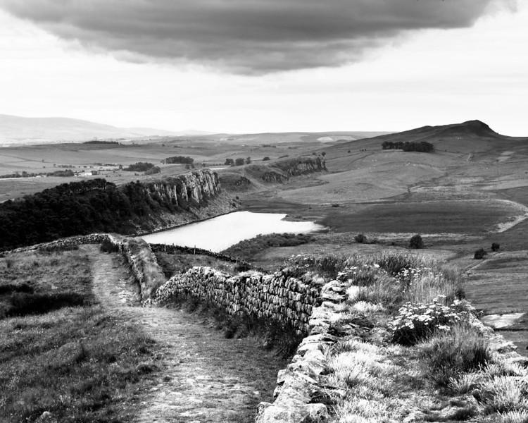Hadrian's Wall, July 2007