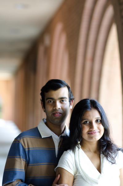 The Choudhury Couple
