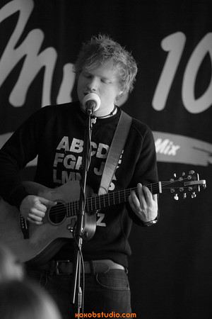 2012-12-17 - Mix100 - Ed Sheeran