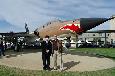 Mather VA Hospital F-105 Dedication