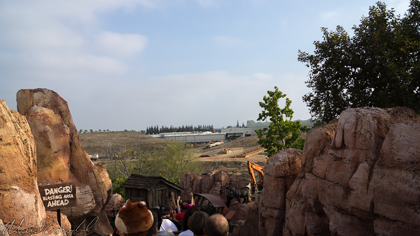 Disneyland Resort, Disneyland, Frontierland, Big, Thunder, Mountain, Railroad, Star, Wars, Star Wars, Land, Construction, Trail, Ranch, Jamboree