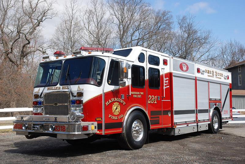Harmony Fire Company - Rescue 2318