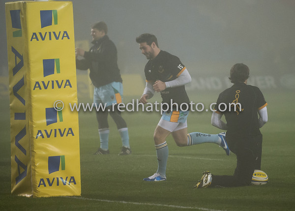 Sale Sharks vs Northampton Saints, Aviva Premiership, Salford City Stadium, 30 November 2012