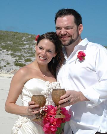 Mark & Deatra | Destination Wedding | Boysie Cay | Exuma Cays, Bahamas