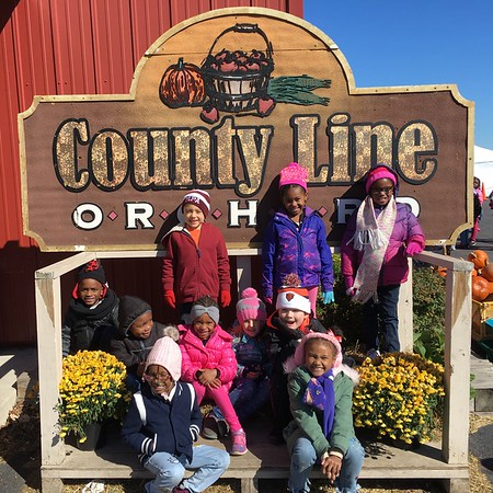 County Line Orchard Field Trip 2018