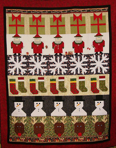Christmas row by row with Corinne Schroeder