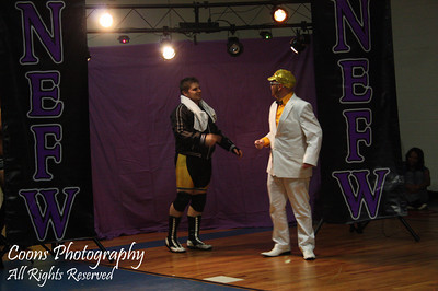 Justin Tunis & Brian Fury with Joey Eastman vs AJ Cruise & Brian XL