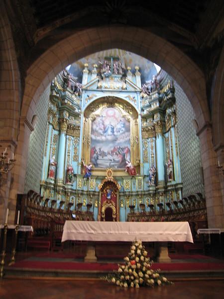 Catedral Primada de Quito, Nave and Major Altar