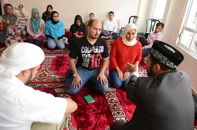 Muslim wedding Mexico City