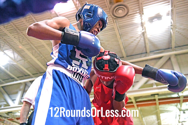 Bout 3Tory Coleman, Jr, Blue Gloves, Real Deal, Cinci -vs- Jamontae Jones, Red Gloves, Soul City, Toledo, 112 Lbs, 14-14 Yrs.