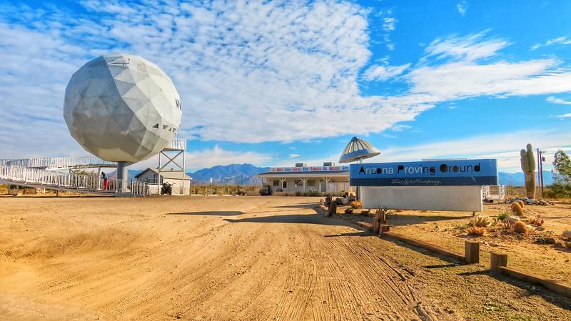Area 66 Roadside Tourist Attraction - Yucca, Arizona