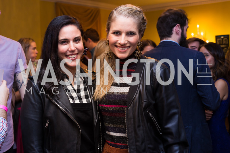 Candace Ourisman, Ashley Bronczek Young Patrons National Theatre Fundraiser November 30, 2017 Photo by Naku Mayo