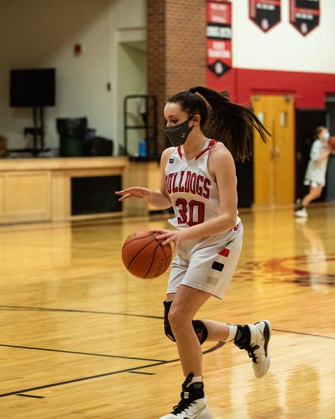 2021 JV and Varsity Girls Baasketball - vs Winthrop
