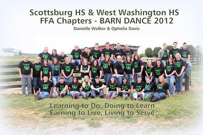 WW & SHS FFA Barn Dance 2012