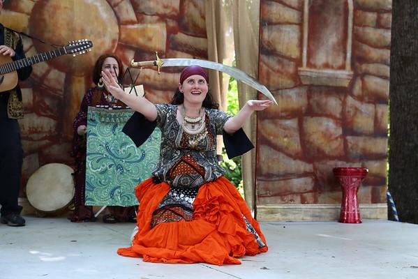 2016 Medieval Faire - Dendarah Belly Dancers